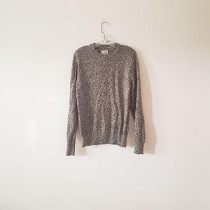 St. John's Bay Tan Black Sweater Small